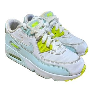 Nike Air Max 90 LTR (PS) Girls Sneakers Size 2Y
